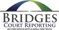 Bridges Court Reporting logo
